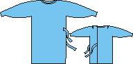 Халат хирургический 110см, рукав на резинке