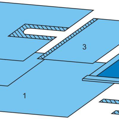 Комплект хирургический для операций на шее одноразовый стерильный