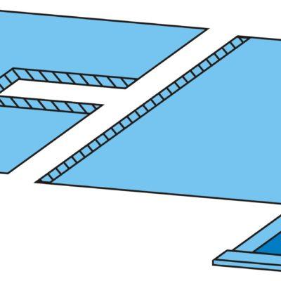 Комплект белья для лапаротомии одноразовый стерильный