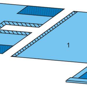 Комплект белья для лапаротомии одноразовый стерильный №2