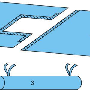 Комплект белья для лапароскопии одноразовый стерильный