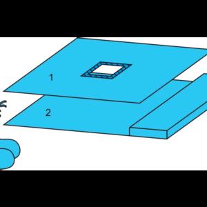 Комплект белья для гистероскопии одноразовый стерильный ТУ РБ 800015628.0001-2003