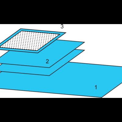 Комплект белья акушерского одноразовый стерильный № 3 ТУ РБ 800015628.0001-2003
