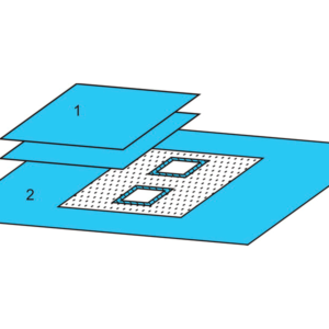 Комплект белья для ангиографии одноразовый стерильный  №1