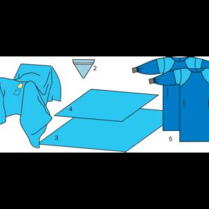 Комплект белья для общей хирургии (ТУР) одноразовый стерильный
