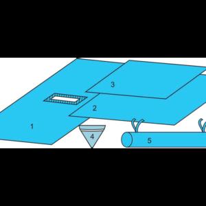 Комплект белья для общей хирургии (чрезкожной нефролитротрипсии) одноразовый стерильный
