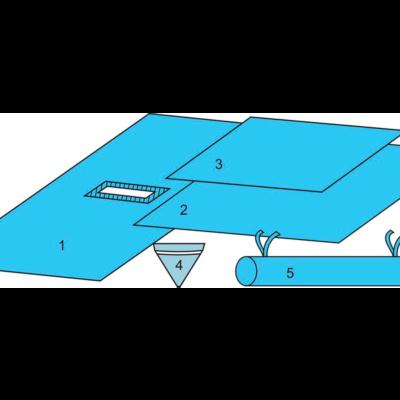 Комплект белья для общей хирургии (чрезкожной нефролитротрипсии) одноразовый стерильный ТУ РБ 800015628.0001-2003