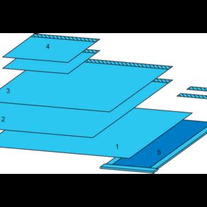 Комплект белья для общей хирургии одноразовый стерильный №1