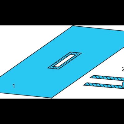 Комплект белья для общей хирургии одноразовый стерильный №2 ТУ РБ 800015628.0001-2003