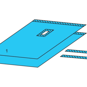 Комплект белья для общей хирургии одноразовый стерильный №5 ТУ РБ 800015628.0001-2003