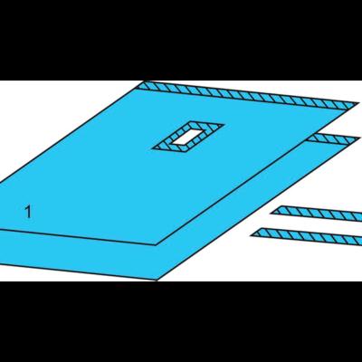 Комплект белья для общей хирургии одноразовый стерильный №5
