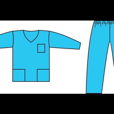 Костюм хирургический (куртка+брюки)