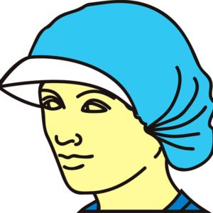 Шапочка-шарлотта хирургическая с козырьком