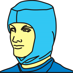 Шапочка-шлем хирургическая