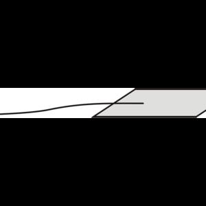 Салфетка операционная на нити для нейрохирургических операций 1*5 см