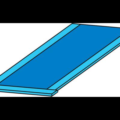 Простыня-мешок операционная на столик Мейо 145*85 см