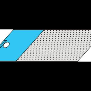 Простыня малая операционная 100*70 см для гастроскопии с впитывающей зоной 70*70 см