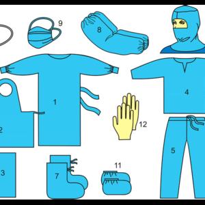 Комплект одежды противоэпидемический № 1